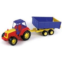Frabar Sand Traktor mit Anhänger