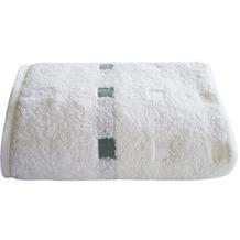 Framsohn Handtuch QUATTRO, weiß 50 x 100 cm