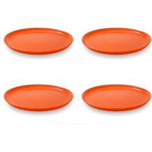 Friesland 4er Set Frühst.-Teller, Happymix, Friesland, 19 cm Orange