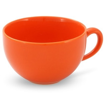Friesland 4er Set Kaffee- Obertasse, Happymix, Friesland, 0,24l Orange