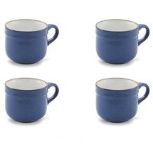 Friesland 4er Set Kaffee-Obertasse, Ammerland, Friesland, 0,22l, 4 teilig, 4 Personen Blue
