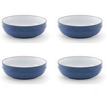 Friesland 4er Set Müslischale, Ammerland, Friesland, 16 cm, 4 tlg., 4 Personen Blue