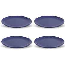 Friesland 4er Set Speiseteller Blau, Happymix, Friesland, 25 cm Blau