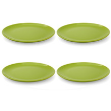 Friesland 4er Set Speiseteller, Happymix, Friesland, 25 cm Limette