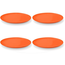 Friesland 4er Set Speiseteller Orange, Happymix, Friesland, 25 cm Orange