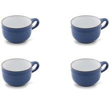 Friesland 4er Set Suppen- Obertasse, Ammerland, Friesland, 0,45l, 4 tlg., 4 Personen Blue