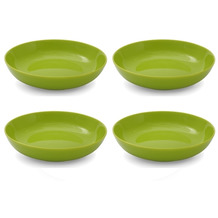 Friesland 4er Set Suppenteller, Happymix, Friesland, 20 cm Limette