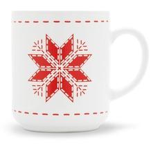 Friesland Becher, Stern, Friesland, 0,25l Weihnachten Weiß