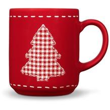 Friesland Becher, Tannenbaum, Friesland, 0,25l Weihnachten Rot