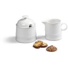 Friesland Ergänzungs-Set Kaffee / Tee, Jeverland, Friesland, 2 tlg. weiß