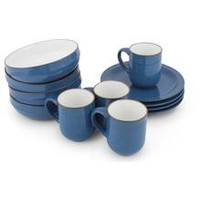 Friesland Ammerland Frühstücks-Set,  für 4 Personen 12-teilig Blue