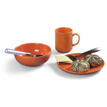 Friesland Frühstücks-Set, Happymix, Friesland, 3 tlg., 1 Personen Orange