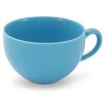 Friesland Kaffe- Obertasse, Happymix, Friesland, 0,24l Azurblau
