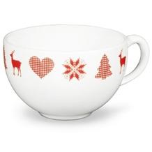 Friesland Kaffee- Obertasse, Friesland, 0,24l Weihnachten Weiß