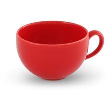Friesland Kaffee- Obertasse, Happymix, Friesland, 0,24l Rot, einfarbig