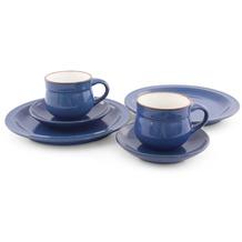 Friesland Ammerland Kaffeeservice für 2 Personen 6-teilig Blue