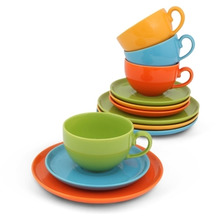 Friesland Kaffee-Set 12tlg. Happymix Bunt