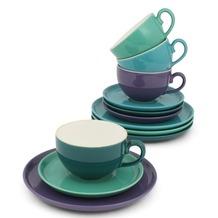 Friesland Kaffee-Set 12tlg. Trendmix Bunt