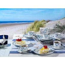 Friesland Jeverland Strand-Blüten Kaffee-Set für 6 Personen 18-teilig