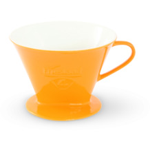Friesland Kaffeefilter Gr. 4 Safrangelb Porzellan