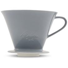 Friesland Kaffeefilter, Kannen & Kaffeefilter, 1x4 / 1-Loch Steingrau