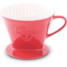 Friesland Kaffeefilter Gr. 2 Rot Porzellan