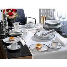 Friesland La Belle Kombiservice für 6 Personen 30-teilig Black & White