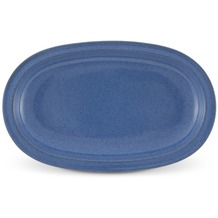 Friesland Tablett 25,5x16cm oval Ammerland Blue