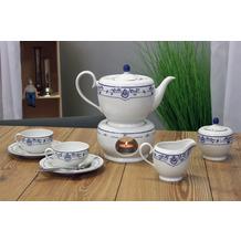 Friesland Tee-Service 8-teilig Atlantis Friesisch Blau