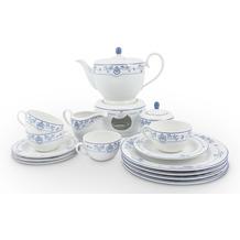 Friesland Tee-Service, Atlantis 16-teilig 4 Personen Friesisch Blau