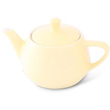 Friesland Teekanne 0,35l Pastellgelb Utah Teapot Porzellan