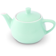 Friesland Teekanne 0,35l Pastellgrün Utah Teapot Porzellan