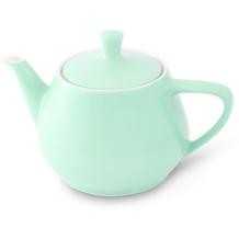 Friesland Teekanne 1,4l Pastellgrün Utah Teapot Porzellan