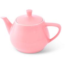 Friesland Teekanne 1,4l Pastellrosa Utah Teapot Porzellan