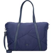 Fritzi aus Preußen Dawn Shopping Tasche 40 cm navy