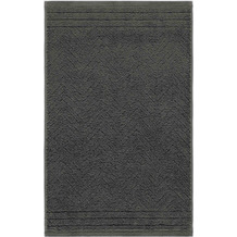 frottana Gästetuch Elegance graphit 30 x 50 cm
