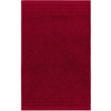 "frottana Gästetuch ""Elegance"" rubin 30 x 50 cm"