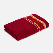 frottana Handtuch Country ruby 50 x 100 cm