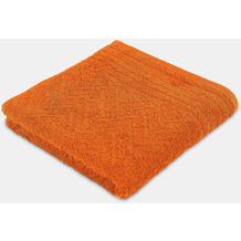frottana Handtuch Elegance red clay 50 x 100 cm