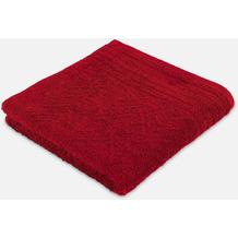 frottana Handtuch Elegance rubin 50 x 100 cm