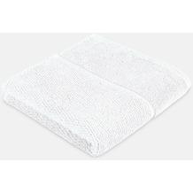 frottana Handtuch Pearl weiß 50 x 100 cm