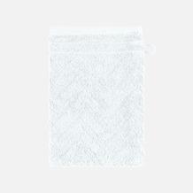 frottana Waschhandschuh Elegance weiß 20 x 15 cm