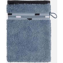 frottana Waschhandschuh Magic bluestone 20 x 15 cm