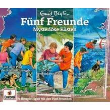 Fünf Freunde - 3er-Box 34. Mysteriöse Küsten Hörbuch