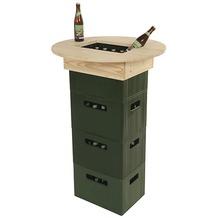 Fun Star Bierkasten-Tischaufsatz Kiefer, für Getränkekisten