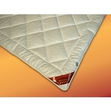 GARANTA Cotton Leichtsteppbett, weiß 135x200 cm