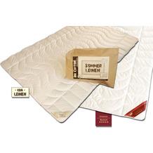 GARANTA Leinen Extra-Leichtbett Bettdecke 135/200