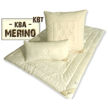 GARANTA Merino Duo-Warm-Steppbett Zirbe Bettdecke 135/200