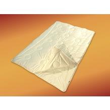 GARANTA Merino 4-Jahreszeiten, weiß Bettdecke 135x200 cm