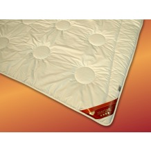 GARANTA Merino Duo-Warm V, weiß Bettdecke 135x200 cm